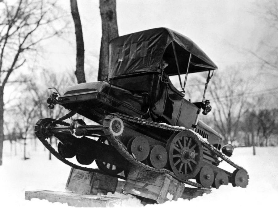 1922 Ford Model T Snowmobile