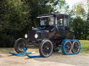 1925 Ford Model T Snow Flyer Coupe