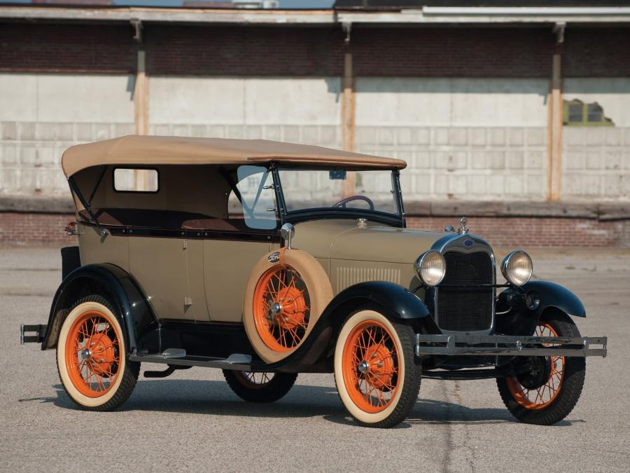 Ford Model A 4-Door Phaeton