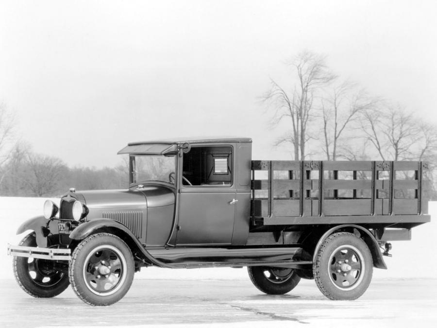 Ford Model AA Platform with Stake Racks