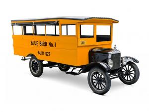 1927 Ford Model T Blue Bird School Bus