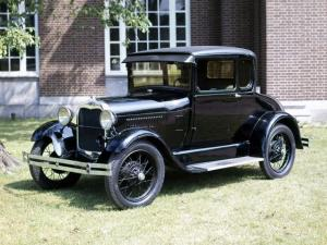 Ford Model A 5-Window Coupe 1928 года