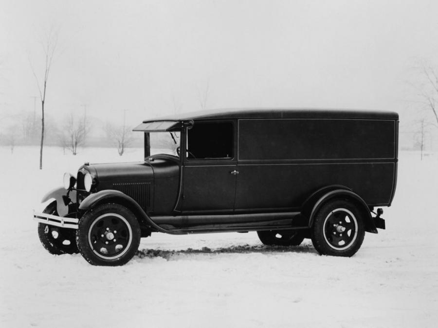 Ford Model AA Panel Delivery by Budd