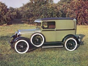 1929 Ford Model A Deluxe Delivery
