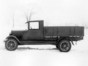 1929 Ford Model AA Platform with Grain Sides