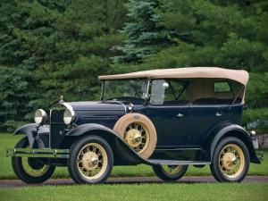 Ford Model A 4-Door Phaeton 1930 года