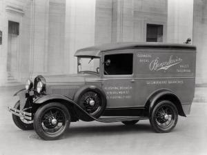 Ford Model A Panel Delivery by Murray 1930 года