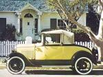 Ford Model A Sport Coupe 1930 года