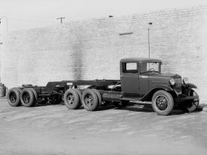 Ford Model AA 6 Wheel Tractor Truck 1930 года