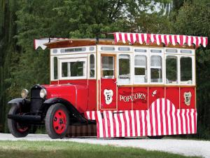 Ford Model AA Popcorn Truck by Cretors 1930 года