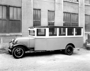 1930 Ford Model AA School Bus by Bowers Engineering Works