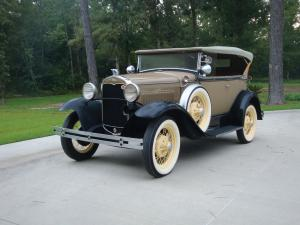 Ford Model A DeLuxe 2-Door Phaeton 1931 года