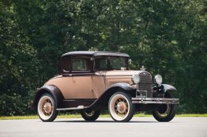 Ford Model A DeLuxe Coupe 1931 года