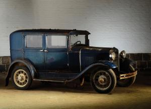 Ford Model A DeLuxe Fordor Sedan 1931 года
