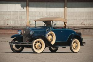Ford Model A DeLuxe Roadster 1931 года