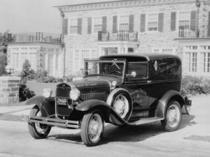 1931 Ford Model A Town Car Delivery