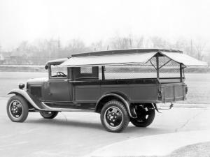 Ford Model AA Express with Canopy Top & Screens 1931 года