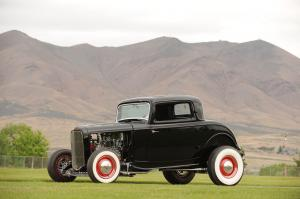 Ford 3-Window Hot Rod Coupe 1932 года