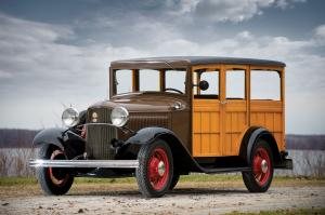 1932 Ford Model B Station Wagon