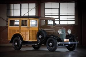 Ford V8 Station Wagon 1932 года