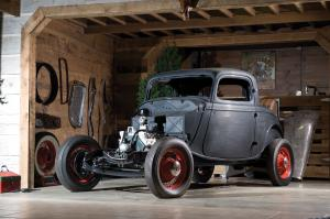 1933 Ford 3-Window Coupe Project