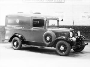1933 Ford V8 Model 46 Ambulance by Crown Body & Coach Corp