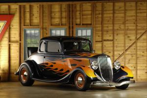 Ford 5-Window Custom Coupe 1934 года