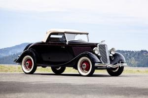 Ford DeLuxe Roadster 1934 года