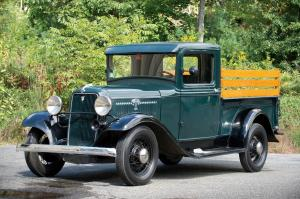 1934 Ford V8 Closed Cab Pickup Truck