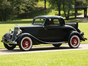 1934 Ford V8 Deluxe 3-Window Coupe by Eddie Meyer