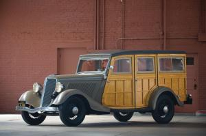 1934 Ford V8 Station Wagon