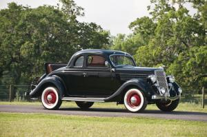 1935 Ford DeLuxe 5-Window Rumble Seat Coupe