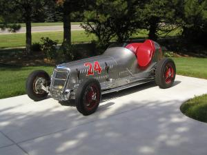 Ford Special Two-Man Indianapolis Racing Car by Welch 1935 года