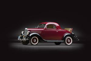 Ford V8 Deluxe 3-Window Coupe 1935 года
