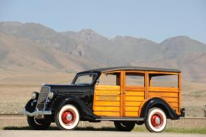 Ford V8 Model 48 DeLuxe Station Wagon 1935 года