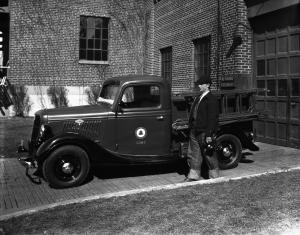 1935 Ford V8 Model 50 Chassis & Cab with Telephone Body