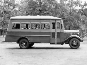 1935 Ford V8 Model 51 Bus by Wayne