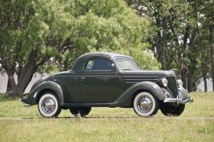Ford DeLuxe 3-Window Coupe 1936 года
