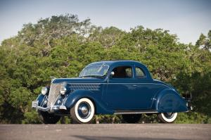 1936 Ford DeLuxe 5-Window Rumble Seat Coupe
