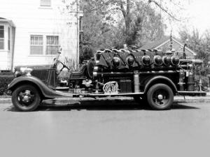 1936 Ford Model 51 Firetruck by Seagrave