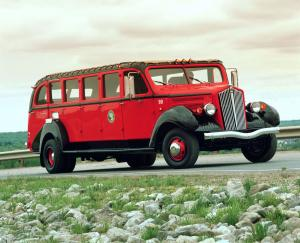 1936 Ford Red Bus