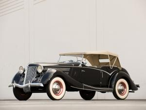 1936 Ford Tourer by Jensen