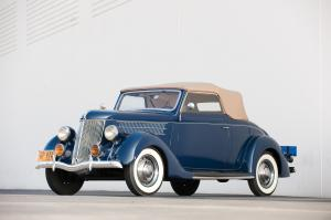 Ford V8 DeLuxe Convertible Cabriolet 1936 года