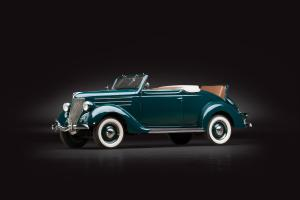 1936 Ford V8 Deluxe Convertible Coupe