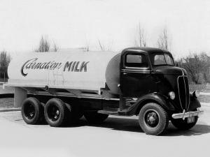 Ford COE Tanker Truck 1937 года