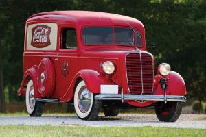 1937 Ford Half-Ton Panel Truck
