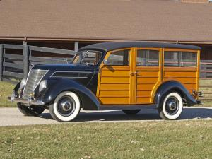 1937 Ford V8 Deluxe Station Wagon
