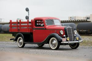 1937 Ford V8 Stake Bed Truck