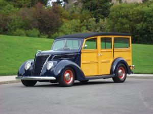 Ford Woody Wagon 1937 года