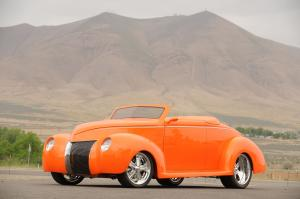 1939 Ford Orange Crush Custom Roadster